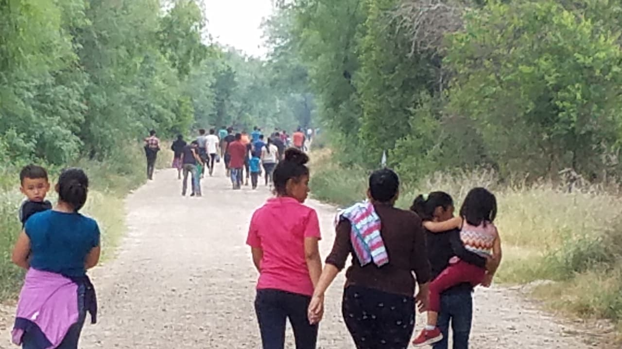 Hospital in McAllen overwhelmed with COVID-positive migrants